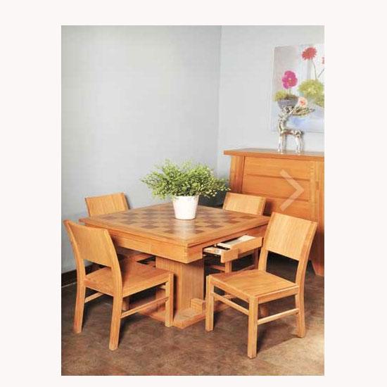 产品名称 挪威森林-麻将桌 品牌商标 华日家具-挪威森林系列 产地图片